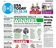 01/15/2014 Issue of USA TODAY