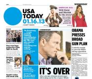 01/16/2013 Issue of USA TODAY