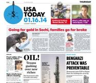 01/16/2014 Issue of USA TODAY