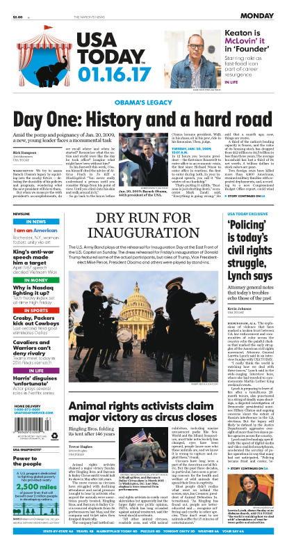 01/16/2017 Issue of USA TODAY