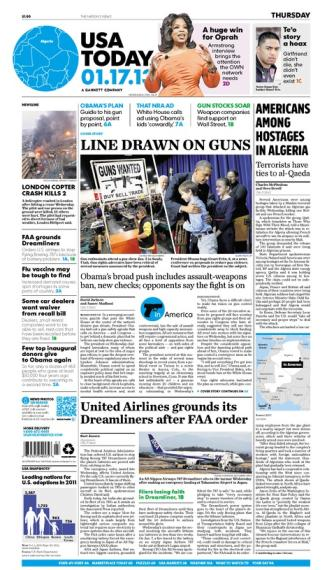 01/17/2013 Issue of USA TODAY
