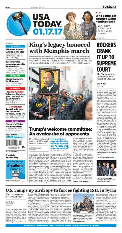 01/17/2017 Issue of USA TODAY