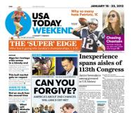 01/18/2013 Issue of USA TODAY