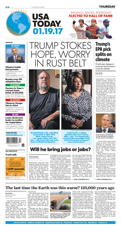 01/19/2017 Issue of USA TODAY