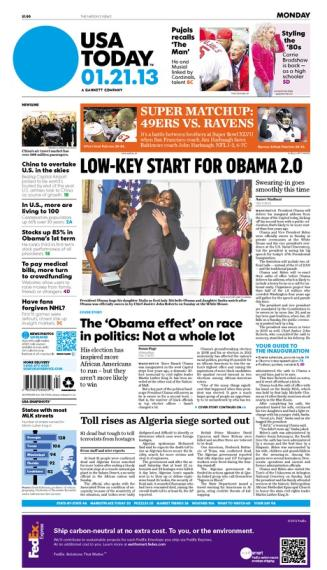 01/21/2013 Issue of USA TODAY
