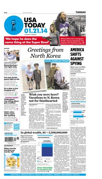 01/21/2014 Issue of USA TODAY