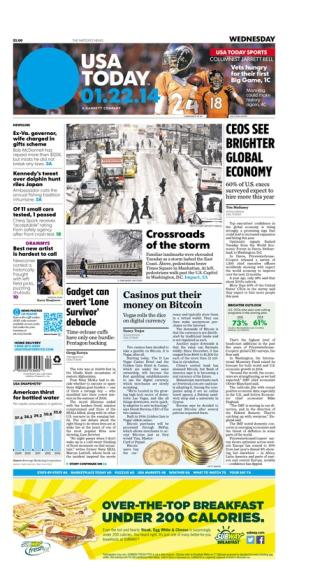 01/22/2014 Issue of USA TODAY