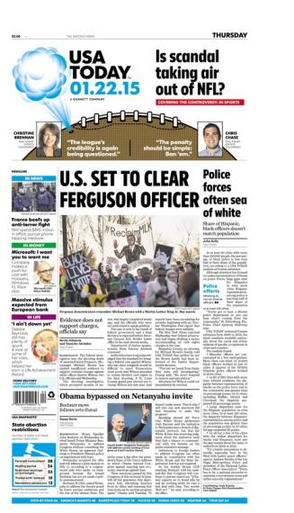 01/22/2015 Issue of USA TODAY
