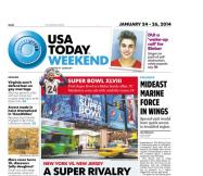 01/24/2014 Issue of USA TODAY