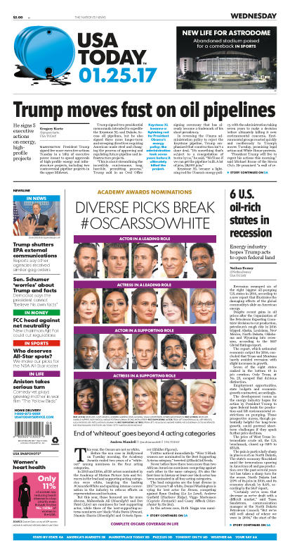 01/25/2017 Issue of USA TODAY