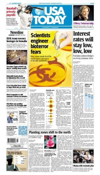 01/26/2012 Issue of USA TODAY