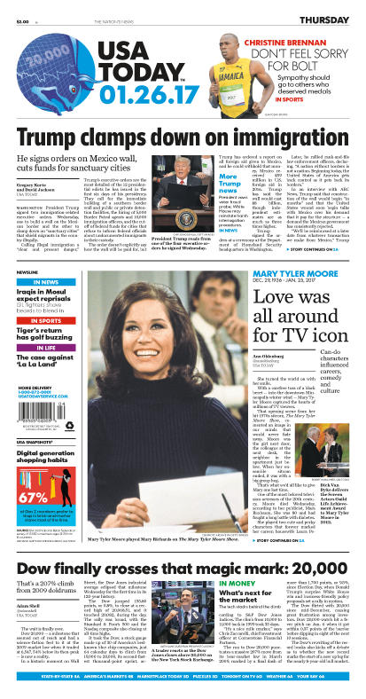 01/26/2017 Issue of USA TODAY