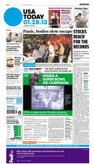 01/28/2013 Issue of USA TODAY