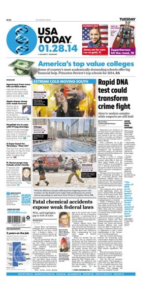 01/28/2014 Issue of USA TODAY