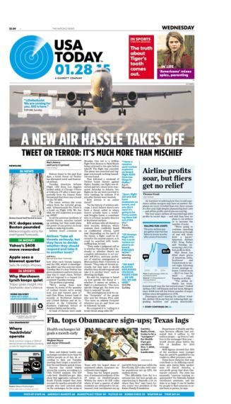 01/28/2015 Issue of USA TODAY