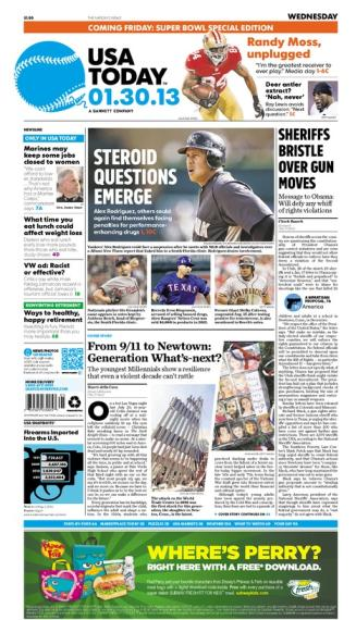 01/30/2013 Issue of USA TODAY