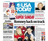 02/01/2012 Issue of USA TODAY