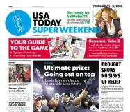 02/01/2013 Issue of USA TODAY