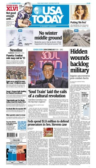 02/02/2012 Issue of USA TODAY