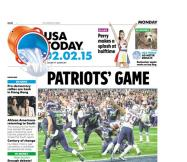 02/02/2015 Issue of USA TODAY