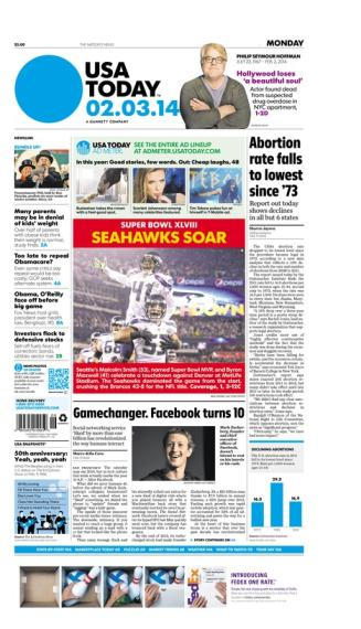 02/03/2014 Issue of USA TODAY