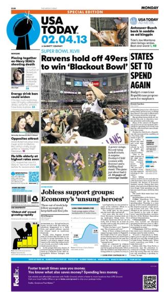02/04/2013 Issue of USA TODAY