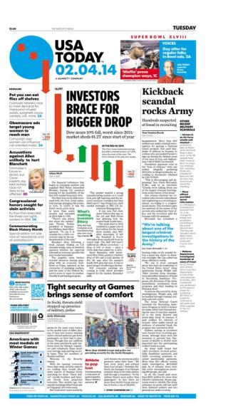02/04/2014 Issue of USA TODAY