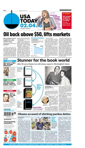 02/04/2015 Issue of USA TODAY