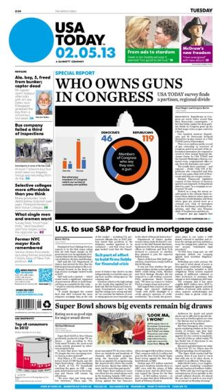 02/05/2013 Issue of USA TODAY