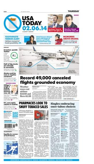 02/06/2014 Issue of USA TODAY