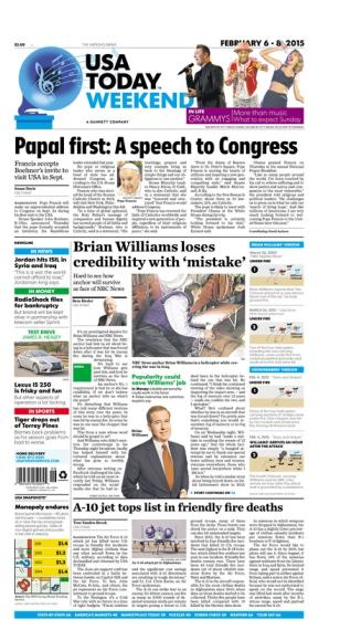 02/06/2015 Issue of USA TODAY
