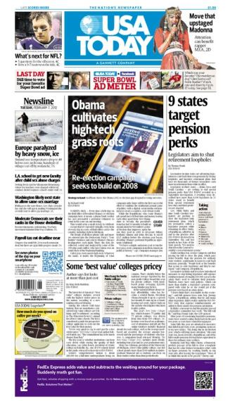 02/07/2012 Issue of USA TODAY