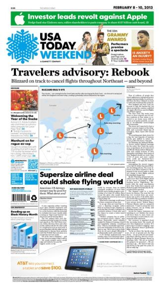 02/08/2013 Issue of USA TODAY