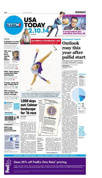 02/10/2014 Issue of USA TODAY