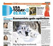 02/11/2013 Issue of USA TODAY