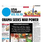 02/12/2015 Issue of USA TODAY