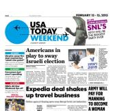 02/13/2015 Issue of USA TODAY