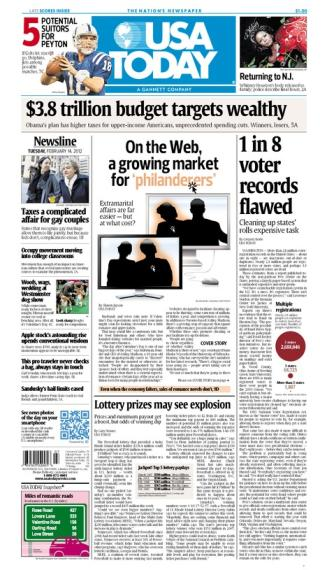 02/14/2012 Issue of USA TODAY