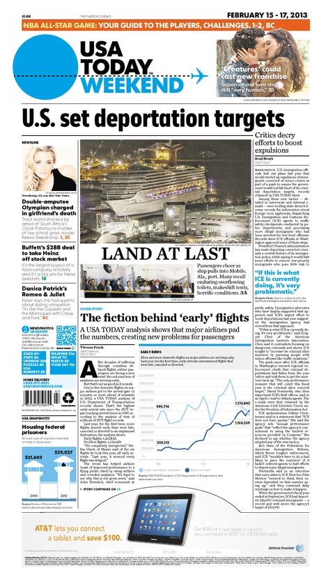 02/15/2013 Issue of USA TODAY