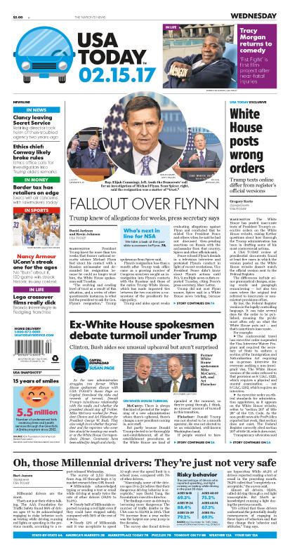 02/15/2017 Issue of USA TODAY