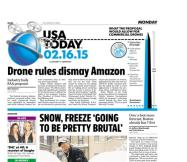 02/16/2015 Issue of USA TODAY