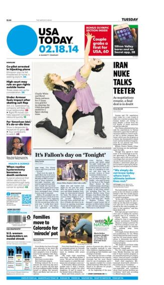 02/18/2014 Issue of USA TODAY