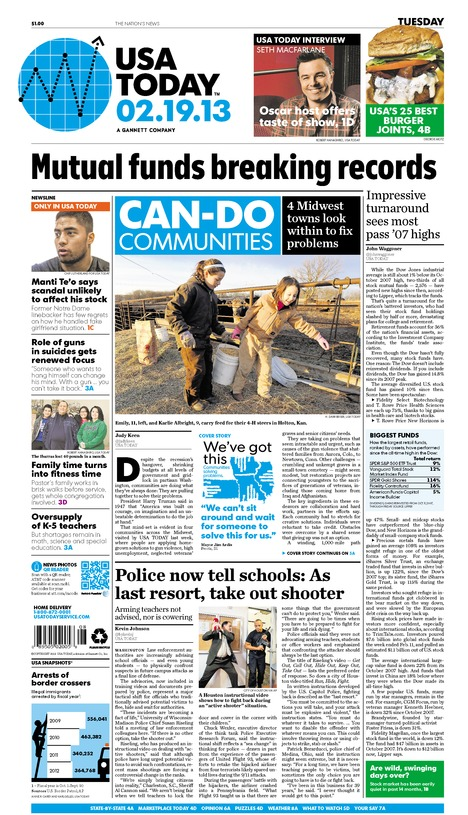 02/19/2013 Issue of USA TODAY