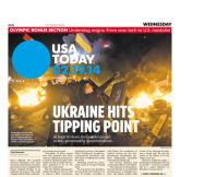 02/19/2014 Issue of USA TODAY