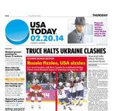 02/20/2014 Issue of USA TODAY