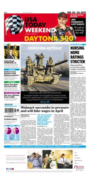 02/20/2015 Issue of USA TODAY