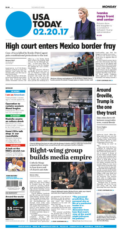 02/20/2017 Issue of USA TODAY