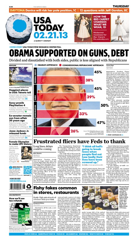 02/21/2013 Issue of USA TODAY