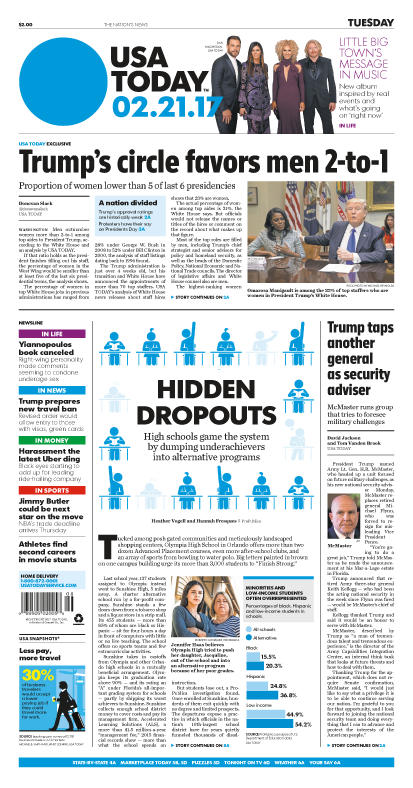 02/21/2017 Issue of USA TODAY
