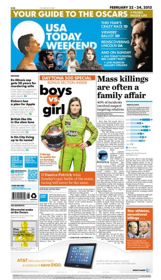 02/22/2013 Issue of USA TODAY